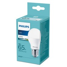 LED Izzó Philips E27/9W/230V 3000K