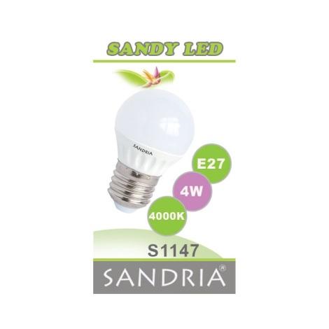 LED izzó  SANDY E27/4W/230V - Sandria S1147