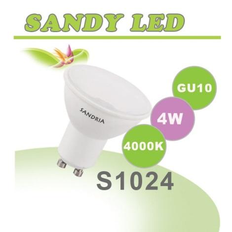 LED izzó  SANDY GU10/4W/230V - Sandria S1024