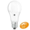 LED Izzó szenzorral E27/8,5W/230V 2700K - Osram