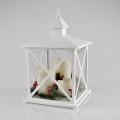 LED karácsonyi dekoráció 3xLED/3xAAA Lámpás fehér gyertyák