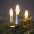 LED Karácsonyi lánc FELICIA FILAMENT 10,5 m 16xLED/0,2W/230V/14V