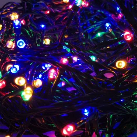 LED Kültéri karácsnyi lánc 10 m 100xLED/3,6W/230V IP44