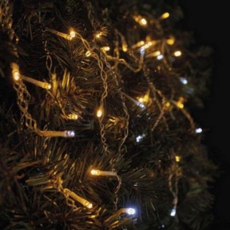LED Kültéri karácsonyi fényfüzér STANDART 2,5 m 100xLED/1,2W/230V IP44