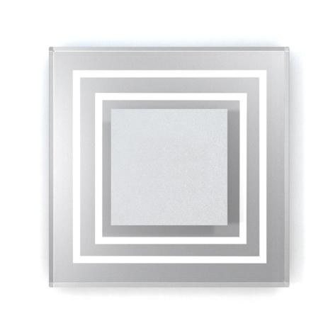 LED lépcső lámpa CRISTAL 01 6xLED/0,48W/12V rozsdamenets acél 6000K