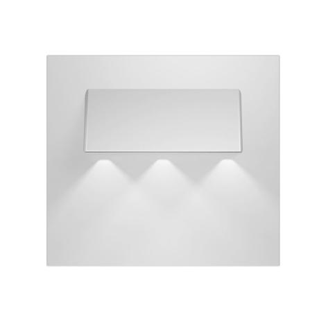 LED lépcső lámpa  GAMA 3xLED/0,24W/12V alumínium 3000K