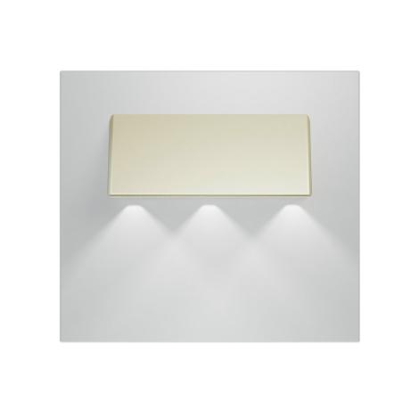 LED lépcső lámpa  GAMA 3xLED/0,24W/12V selemyfény 6000K