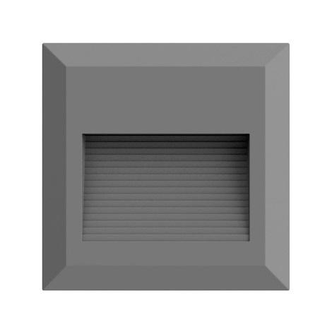 LED Lépcsőmegvilágító 1xLED/2W/230V 3000K IP65