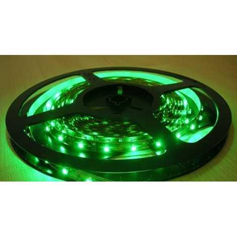 LED LQ szalag 3528/12V 4,8W/m GREEN 5m, zöld