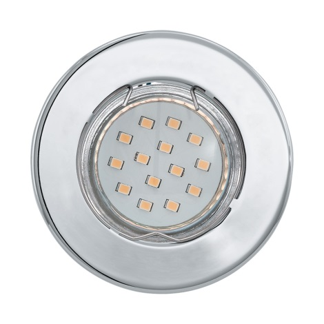 LED mennyezeti lámpa IGOA 1xGU10/3W/230V fényes króm