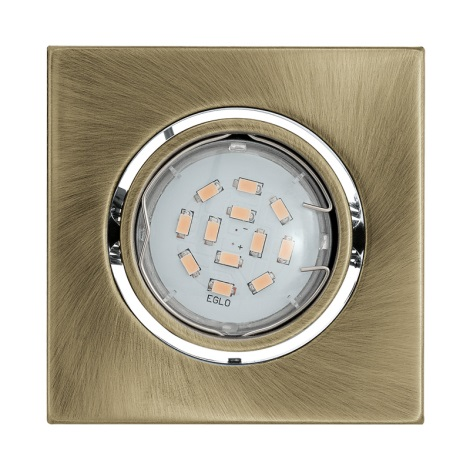 LED mennyezeti lámpa IGOA 1xGU10/5W/230V bronz