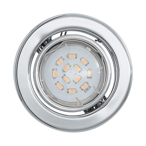 LED mennyezeti lámpa IGOA 1xGU10/5W/230V fényes króm