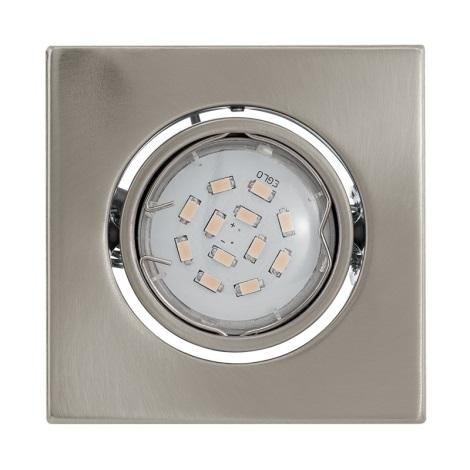 LED mennyezeti lámpa IGOA 1xGU10/5W/230V matt króm