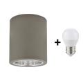 LED Mennyezeti lámpa JUPITER 1xE27/6W/230V 120x98 mm