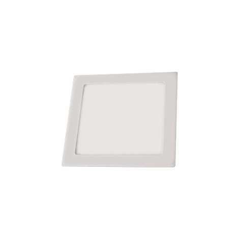 LED mennyezeti lámpa LED60 VEGA-S Silver SMD/12W meleg fehár  szögletes