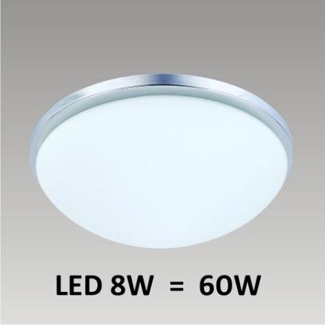 LED Mennyezeti lámpa PERI 1xLED/8W króm