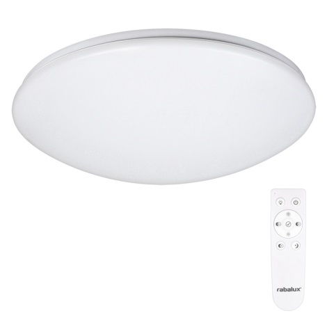 LED Mennyezeti lámpa távirányítóva OLLIE 1xLED/40W/230V