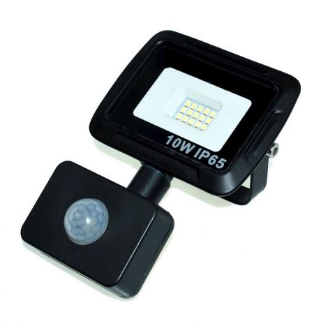 LED Reflektor érzékelővel LED/10W/230V IP65 4500K