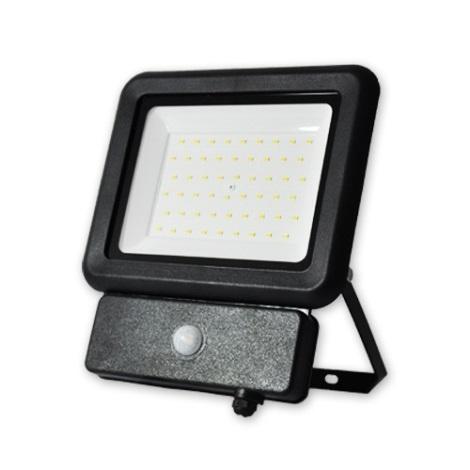 LED Reflektor érzékelővel LED/50W/230V IP65 4000K