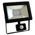 LED Reflektor érzékelővel NOCTIS 2 SMD LED/10W/230V IP44 650lm fekete