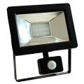 LED Reflektor érzékelővel NOCTIS 2 SMD LED/20W/230V IP44 1250lm fekete