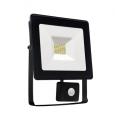 LED Reflektor érzékelővel NOCTIS LUX SMD LED/20W/230V IP44 1700lm fekete