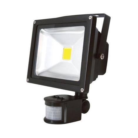 LED reflektor PIR érzékelővel T262 30W LED IP65