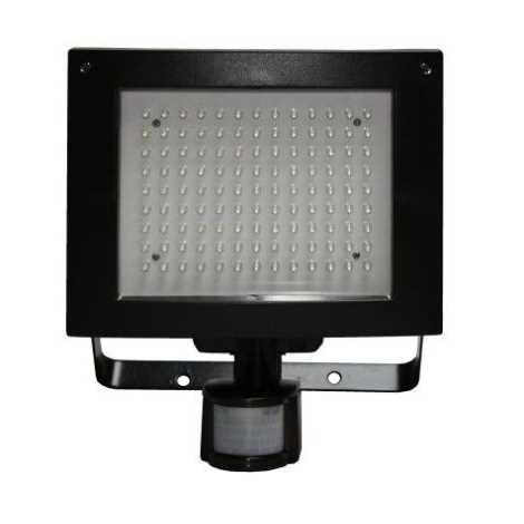 LED reflektor  PIR érzékelővel  T274 117xLED/9W fekete