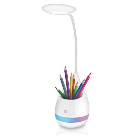 LED RGB Szabályozható asztali lámpa LED/4W/5V
