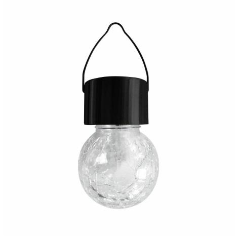 LED RGB Szolár lámpa 1,2V/1xAAA IP44 fekete