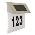 LED Solár házszám 1,2V IP44