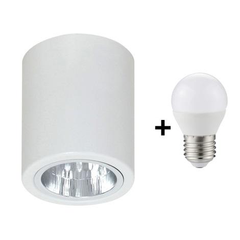 LED Spotlámpa DOWNLIGHT ROUND 1xE27/6W/230V 112x90 mm