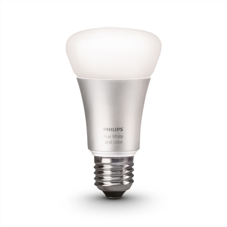 LED Szabályozható izzó HUE SINGLE BULB 1xE27/10W - Philips 8718696461655