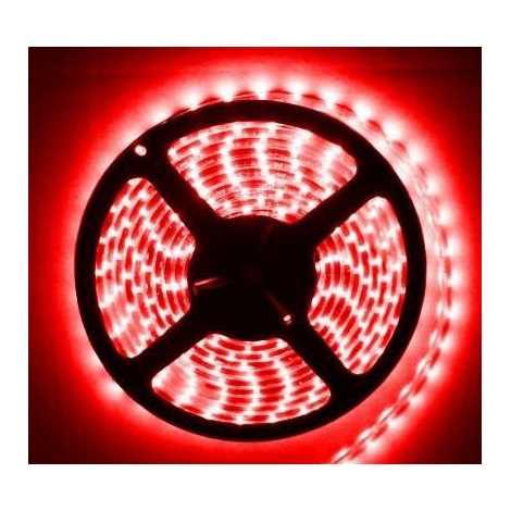 LED szalag vízálló 5 méter IP65 piros - GXLS011