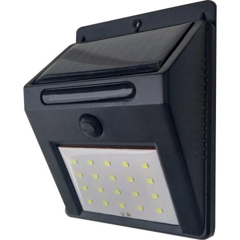 LED Szolár fali lámpa LED/3W IP44
