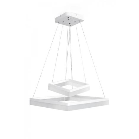 LEDKO 00285 - LED Csillár ONDAREN QUADRO LED/55W/230V