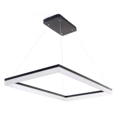 LEDKO 00289 - LED Csillár ONDAREN QUADRO LED/66W/230V