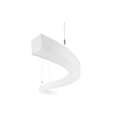LEDKO 00400 - LED Csillár WAVE LIGHT LED/22W/230V