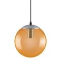 Ledvance - Csillár zsinóron BUBBLE 1xE27/40W/230V narancssárga á. 20 cm