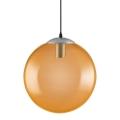 Ledvance - Csillár zsinóron BUBBLE 1xE27/40W/230V narancssárga á. 30 cm