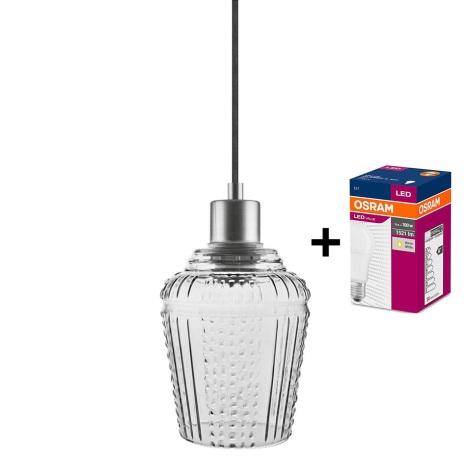 Ledvance - Csillár zsinóron JAR 1xE27/40W/230V