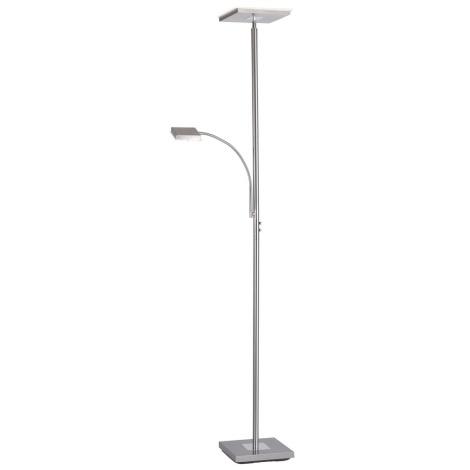 Leuchten Direkt 11710-55 - LED Dimmelhető állólámpa HANS LED/22W/230V + LED / 4W