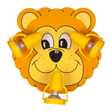 LION mennyezeti lámpa 3xE14/40W/230V