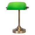 Lucide 17504/01/03 - Asztali lámpa BANKER 1xE14/ESL 11W/230V
