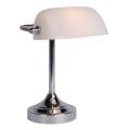 Lucide 17504/01/11 - Asztali lámpa BANKER 1xE14/ESL 11W/230V