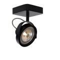 Lucide 31930/12/30 - LED spotlámpa TALA LED 1xG53/12W/230V/12V fekete