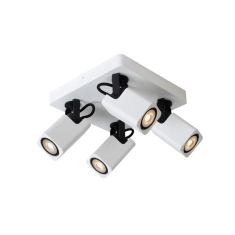 Lucide 33961/20/31 - LED spotlámpa ROAX 4xGU10/5W/230V fehér