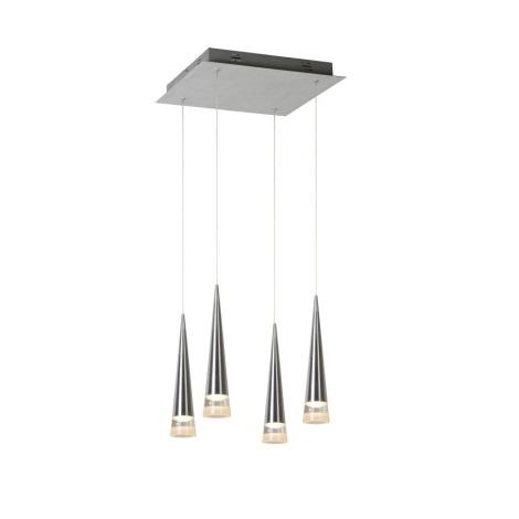 Lucide 36416/19/12 - LED függeszték REIKO 4xLED/5W/230V