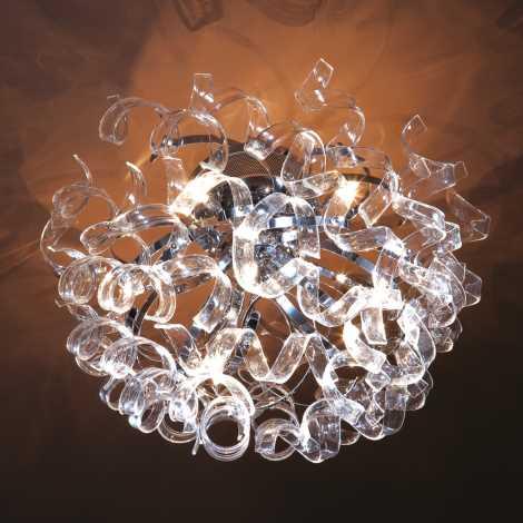 LUXERA 14042 - HARMONY csillár 8xG4/20W
