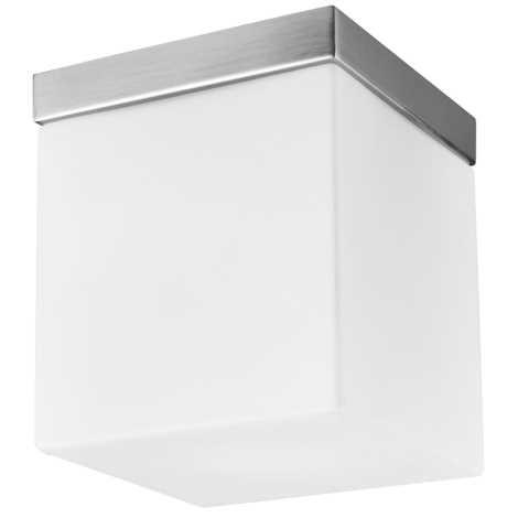 LUXERA 1510 - CUBIX mennyezeti lámpa 1xE27/60W 225x200 mm NS